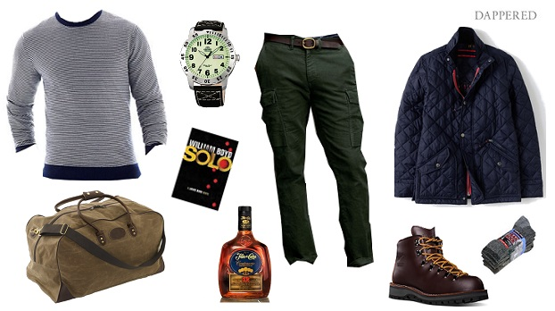 Style Scenario: Weekend in the Mountains or Woods by Dappered.com