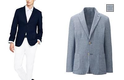 UNIQLO new linen cotton jackets on Dappered.com