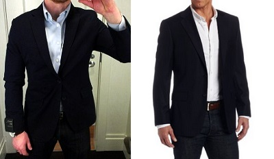 Getting into the Navy Blazer game on Dappered.com