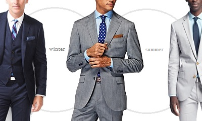 What suit during what season? Answered in The Mailbag on Dappered.com