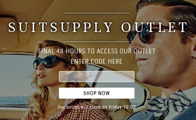 suitsupply outlet tease