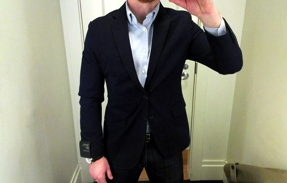 BR Tailored Fit navy steal alert