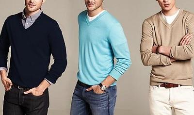 BR silk Linen V-Neck Sweater on Dappered.com