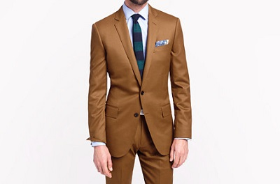 Brown Flannel Suit on Dappered.com