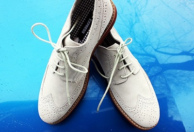 Express Suede Wingers on Dappered.com