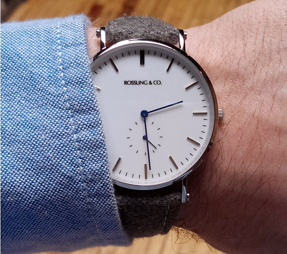 Rossling & Co. Watch review on Dappered.com