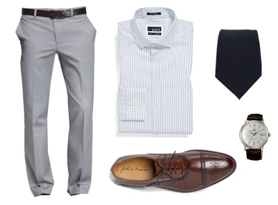 A good look for the first day on a job / Dappered.com
