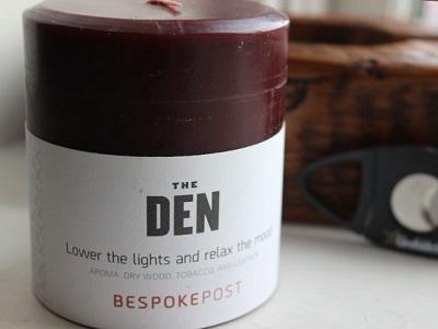 Bespoke Den Candle on Dappered.com