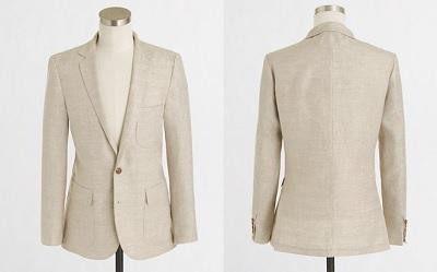 Thompson sportcoat in linen