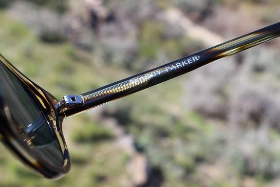 Warby Parker glasses arm on Dappered.com