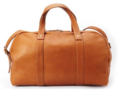 maxton leather duffle