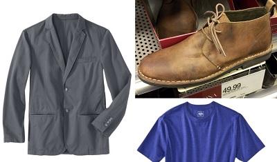 target men's wardrobe sale 2014 - part of The Thursday Handful on Dappered.com