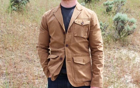 American Eagle Field Jacket  reviewed on Dappered.com