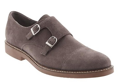 BR Suede Double Monk on Dappered.com