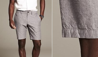 BR Chambray short on Dappered.com