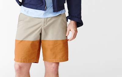GAP colorblock shorts - part of The 10 Best Bets for $75 or less on Dappered.com