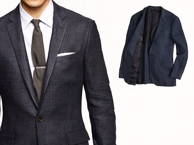 J.Crew Italian Linen Blazer - part of this month's Most Wanted Affordable Style on Dappered.com