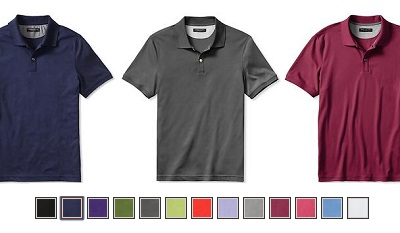 Luxe touch polo on Dappered.com