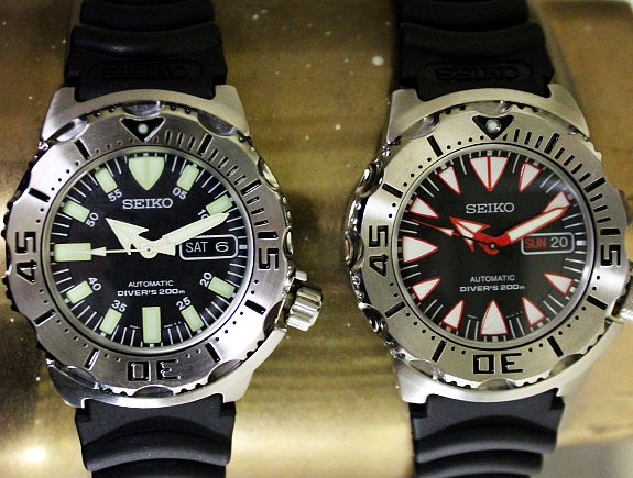 A review of Seiko's new Monsters on Dappered.com