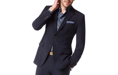 BR Navy Italian Wool Suit Jacket on Dappered.com