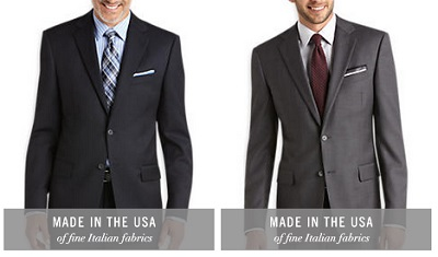 Men's Wearhouse Abboud suits on Dappered.com