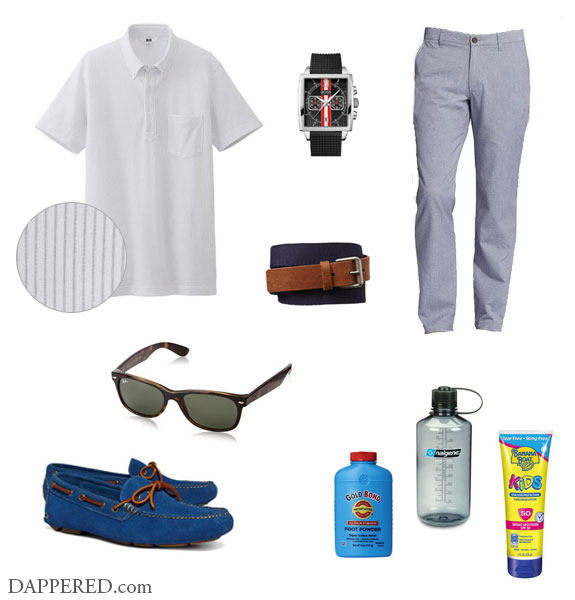 Style Scenario - It's Too Damn Hot by Dappered.com