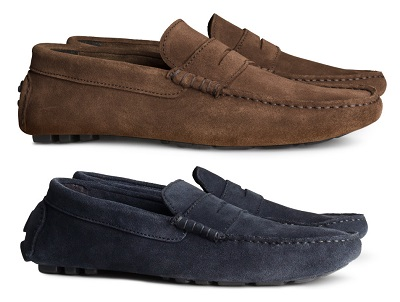 H&M Suede Drivers - part of The 10 Best Bets for $75 or less on Dappered.com