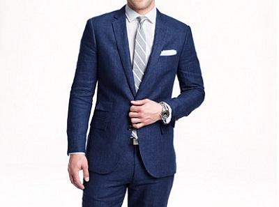 jcrew linen suit on Dappered.com