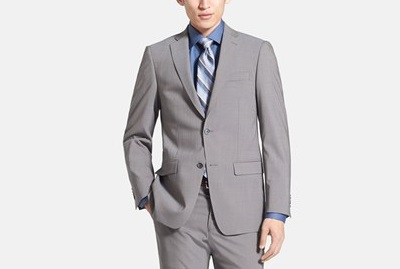 mkors stretch wool suit on Dappered.com