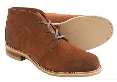 Wolverine Chukkas - part of The Thursday Handful on Dappered.com