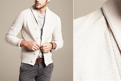BR Shawl Collar Cardigan on Dappered.com