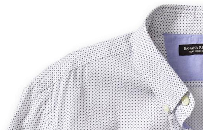 BR Slim Fit Dot Print Shirt on Dappered.com