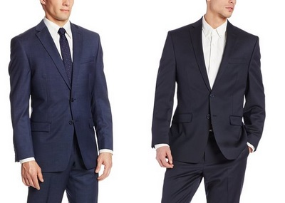 CK Blue Suits on Dappered.com