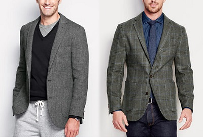 Lands' End Blazers - Autumnal Temptations on Dappered.com