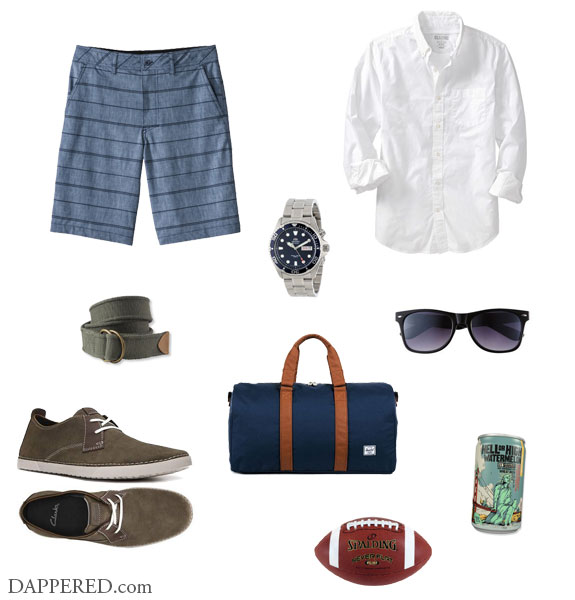Style Scenario: Day On The Lake by Dappered.com