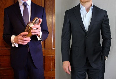 Suitsupply Napoli - Top 10 Affordable Navy Suits on Dappered.com