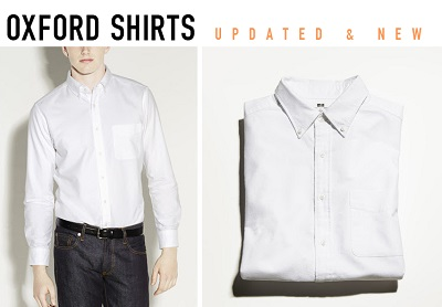 UNIQLO Updated Oxford - part of The Thursday Handful on Dappered.com