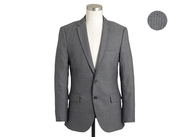 JC Factory Pinstripe Suit - Autumnal Temptations on Dappered.com
