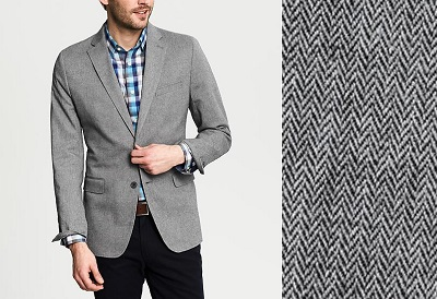 BR Herringbone Blazer on Dappered.com