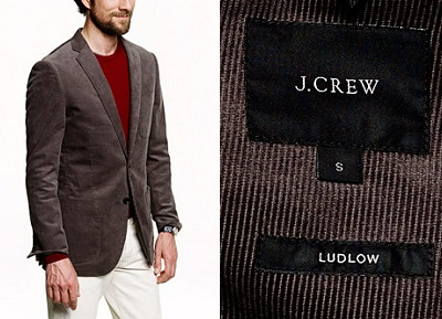 J.Crew Ludlow Corduroy - Autumnal Temptations on Dappered.com