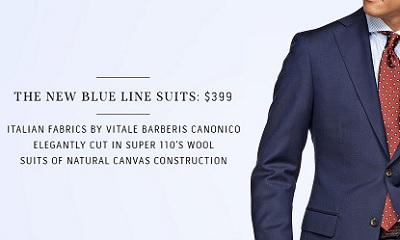 SuitSupply Blue Line - Dappered All Stars 2014