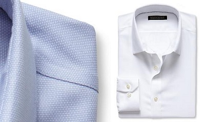 BR Tailored Slim Birdseye Shirt on Dappered.com