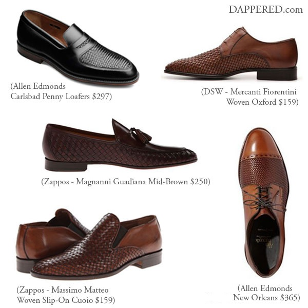 Dappered.com asks: Would you wear woven leather shoes?