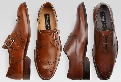 Men's Wearhouse 30% off shoes - part of The Thursday Handful on Dappered.com