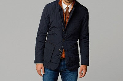 Massimo Dutti Quilted Blazer - Autumnal Temptations on Dappered.com