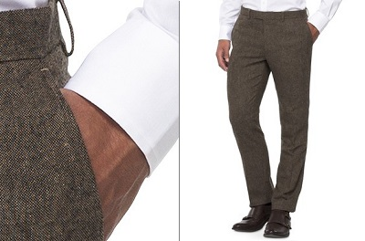Target WD.NY Tweed Pants - Autumnal Temptations on Dappered.com
