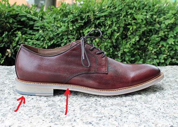 In Review: The Banana Republic Dean Leather Oxford | Dappered.com