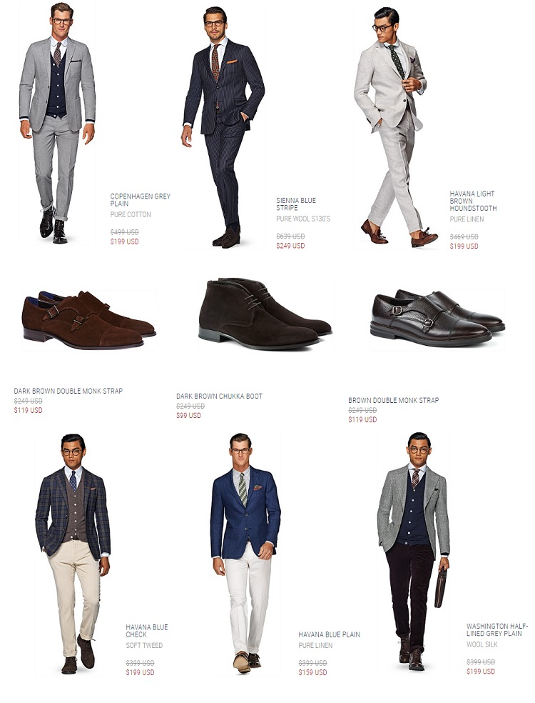 The Suitsupply Online Outlet is BACK!